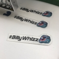 #BillyWhizz Embroidered Patch