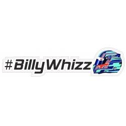 #BillyWhizz Sticker Right