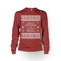 Christmas Filthy Animal - Ladies Sweatshirt