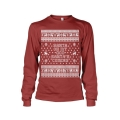 Christmas Santa's Coming - Ladies Sweatshirt