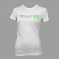 Ladies Techno Fire - White