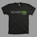 Techno Fire - Black