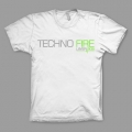 Techno Fire - White